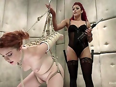Electro Sex Clinic: Curing hysteria through very nice hd 17 electro orgasms!