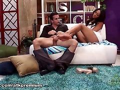 Amazing pornstar Leilani Leeane in Best Black and Ebony, Interracial sex clip