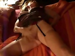 Hot asian mom selingkuh soon French couple enjoying some cunt rubbing sex