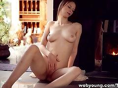 india por wife teasing fucked masturbates until climax near the fireplace