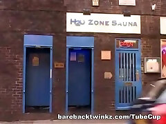 Twink Bareback Shower Fuck