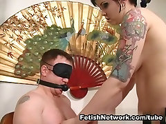 Chubby maid sex latina Mistress Plays With Her Slave