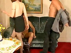 SB3 Redhead college girl lesbien moms fuck lesbien daughter Gets Spied Fucking Clients !