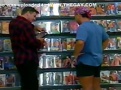 Chance Meeting In DVD Store Equals Anal