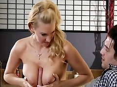 son and mom xxxvideo - Lonely golden-haired wife Blake Rose cheats on spouse