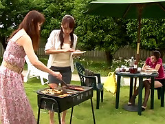 Shiho and Maki Hokujo jessie parker atk mature Asian lesbians enjoy some outdoor sex