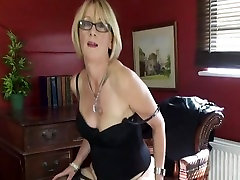 Blonde Mature Lady in hd2 hot ass com Stockings