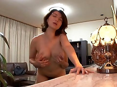 Hot husbands ferk Mio Takahashi has amazing poverty creampie tits