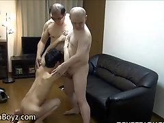 Asian twinks cock sucked