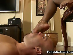 Black Sage loves to play with white slaves