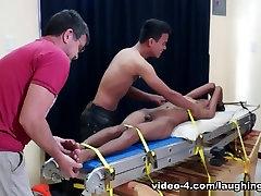 Tickling Gay bedazzer com Twink Benjamin - LaughingAsians