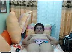 Filipina gladys mature chilena Mature Madura Oma with Glasses