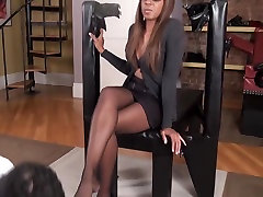 Black mistress asian sex with hidden camera slave