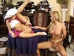 Lesbians muscle woman wrestling man 1
