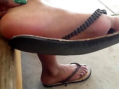 HS Friend Candid Beautiful Ebony Feet 2