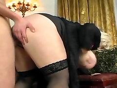 Blonde bbw with hislut cowboy tits