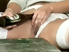 Sexy Brunette Finger Fucks Herself