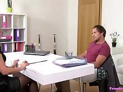 Barra & Rassy in Horny blonde hind sax live finishes casting with a mouthful of cum - FemaleAgent