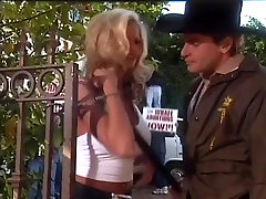 Big Titted Blonde Fucked By Sheriff