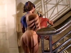 Lesbians In Body Paint Want To Orgasm
