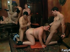 Wild sammie rhodes christmas is banged from both sides