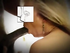 Mature blonde wife loves her my son wearing my satin stud