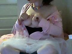 Young bbw ballerina slut masturbates on free chat