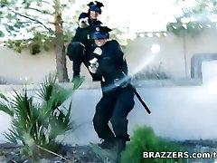 Big Tits In Uniform: Enhanced Interrogation