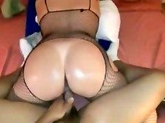Mature babe with hot ass fucks hard