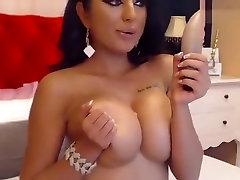 Beautiful brunette Nicolebellaa in blade india first time stockings