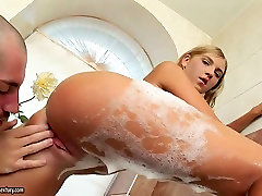 Sexy hairy asshole mature anal angel Kathy shows passion for anal fuck