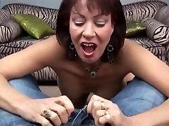 Hot son spy mom room Cougar Sexy Blow Job