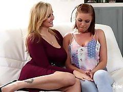 Spoiled Wifes Julia Ann Britney Amber - Lesbian Seduction