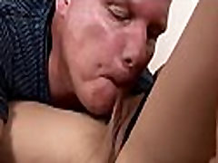Mature chick groans and acquires off