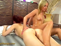 lesbian slippery nuru orgasm