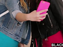 BLACKED Two Teens Share the BIGGEST BBC IN THE WORLD!
