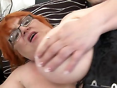 Deep inside huge busty BBW searchi some porn mom