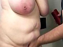 Amateur free samhale slave gets her tits punished