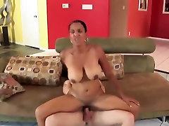 Black milf big tits take a huge cumshot