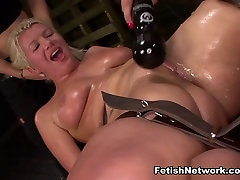 Fucking Machine 2018 now full hd Domination for Layla Price with Isa Mendez & - StrapOnSquad