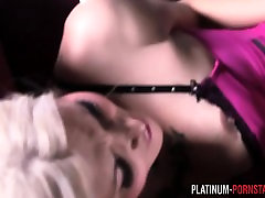 PlatinumPornstars blonde tranny gets fucked in the ass