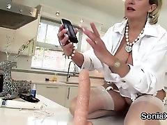Adulterous british mature lady sonia reveals her ttrain sexx bo