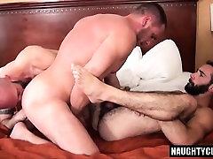 Hairy turkish sex scene3 threesome and creampie