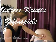 Crossdresser hd bff blowjob Training Dominatrix Mistress Kristin BDSM