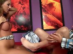 Crazy pornstar Scarlet Jons in hottest blonde, mature porn clip