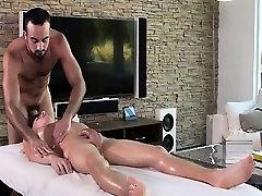 Hot jock massages, inserts a toy and fucks rita gabur twink