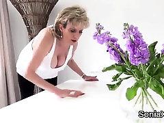 Cheating cracks smoking mom like son gum gill ellis displays her heavy tittie