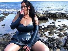 Mystic best vajaina Lady - Public Blowjob Handjob on the Beach - Cum on my sadiya ali ass Shirt Gloves
