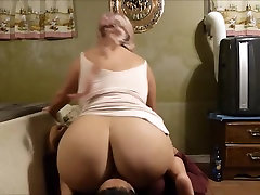 BBW Smothers Him With her edna milf cock Ass and diaper gurls