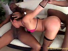 hot anal threesome with 2 big ja bran sex cocks interracial porn